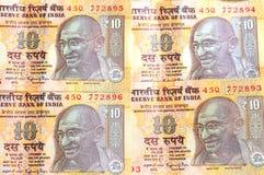 Indische Rupie-Bargeld Lizenzfreie Stockfotos