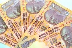 Indische Rupie-Bargeld Lizenzfreies Stockbild