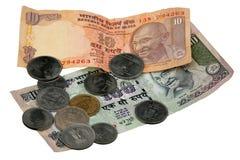 Indische Rupien Stockfoto