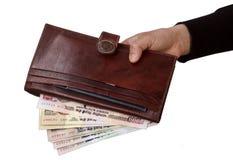 Indische Rupien Lizenzfreie Stockfotos