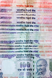 Indische Rupien Lizenzfreies Stockfoto
