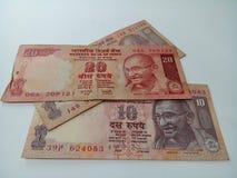 Indische Rupien Lizenzfreie Stockbilder