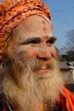 Indische Sadhu Royalty-vrije Stock Afbeelding