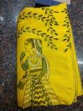 Indische saree royalty-vrije stock afbeelding