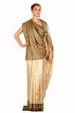 Indische sarees Stock Foto