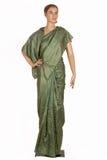 Indische sarees Stock Foto's