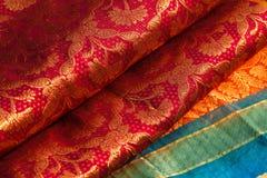Indische saris Stock Foto's