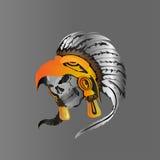 Indische schedel vectorillustratie Royalty-vrije Stock Foto