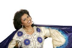 Indische Schoonheid - Dansen Royalty-vrije Stock Fotografie