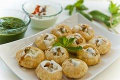 Indische snack Royalty-vrije Stock Afbeeldingen
