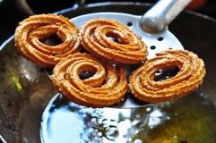 Indische snack-Chakli stock foto