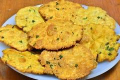 Indische snack-Mathri royalty-vrije stock afbeeldingen
