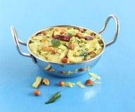 Indische Snack Poha Chivda stock afbeelding