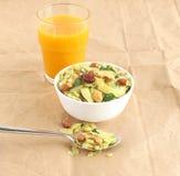 Indische Snack Poha Chivda stock foto