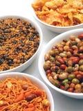 Indische snacks Stock Afbeelding