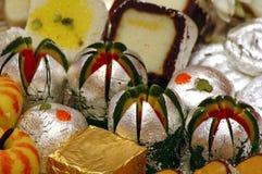 Indische Snoepjes - Mithai royalty-vrije stock foto's