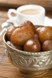 Indische speciale zoete Gulab Jamun Royalty-vrije Stock Foto