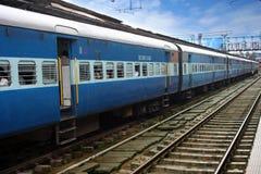 Indische Spoorweg Royalty-vrije Stock Afbeeldingen