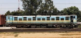 Indische Spoorwegtrein royalty-vrije stock foto's
