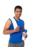 Indische sportman Royalty-vrije Stock Afbeelding