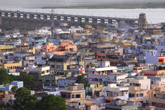 Indische Stadt Vijayawada Lizenzfreie Stockfotos