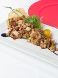 Indische stijl van de kippen de Kruidige Salade Royalty-vrije Stock Fotografie