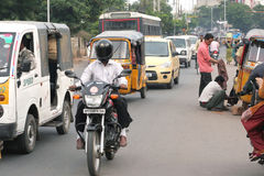 Indische Straßen-Szene Lizenzfreie Stockbilder