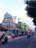 Indische straat Royalty-vrije Stock Afbeelding
