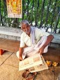 Indische straatfotografie Stock Foto's