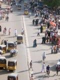 Indische Straßen-Szene Stockfotos
