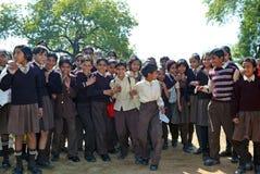 Indische studenten Stock Afbeeldingen