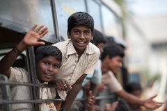 Indische studenten Royalty-vrije Stock Afbeelding