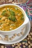 Indische Suppe, Kabuli Channa Lizenzfreie Stockbilder