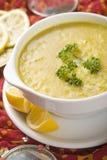 Indische Suppe, Mulligatawny Stockfoto