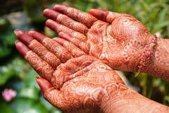 Indische Tätowierung Lizenzfreie Stockfotos