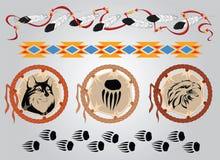 Indische tatoegering Stock Afbeeldingen