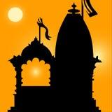 Indische Tempel Stock Illustratie