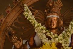Indische tempel in de stuwadoor Maleisië van Kuala Stock Fotografie