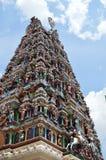 Indische tempel in de stuwadoor Maleisië van Kuala Stock Foto