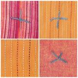 Indische textiel Royalty-vrije Stock Afbeelding