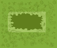 Indische textuur 2 Vector Illustratie