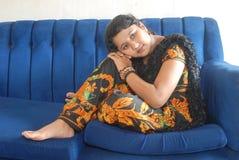 Indische Tiener Stock Foto