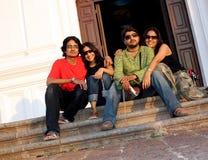 Indische Tienerjaren Stock Fotografie