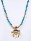 Indische traditionelle Halskette Lizenzfreie Stockfotos