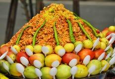 Indische ungesunde Fertigkost Stockbilder