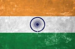Indische vlag Stock Afbeelding