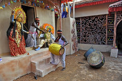 Indische VolksArts. Royalty-vrije Stock Foto's
