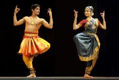 Indische volksdans Royalty-vrije Stock Afbeeldingen