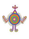 Indische VolksMotieven Royalty-vrije Stock Foto