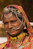 Indische vrouw Stock Afbeelding